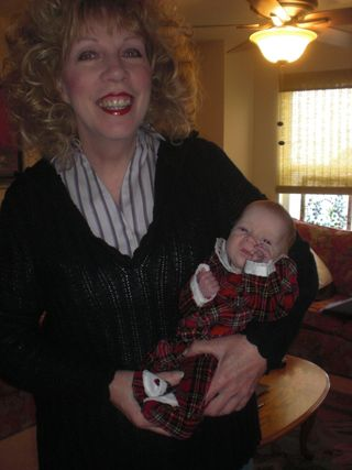 Mom & Maddie Xmas Outfit